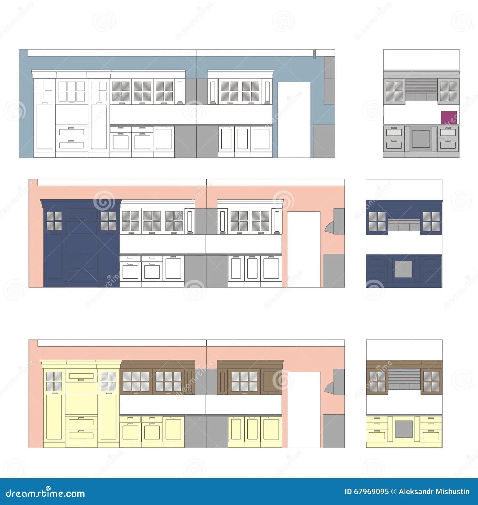 kitchen furniture drawing color scan interior wall modular kitchen furniture kolkata howrah west bengal price