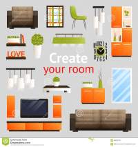 92+ Living Room Furniture Clipart - Living Room Clipart ...