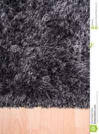 Fuzzy Carpet Lying On The Floor Stock Photo - Image of ...