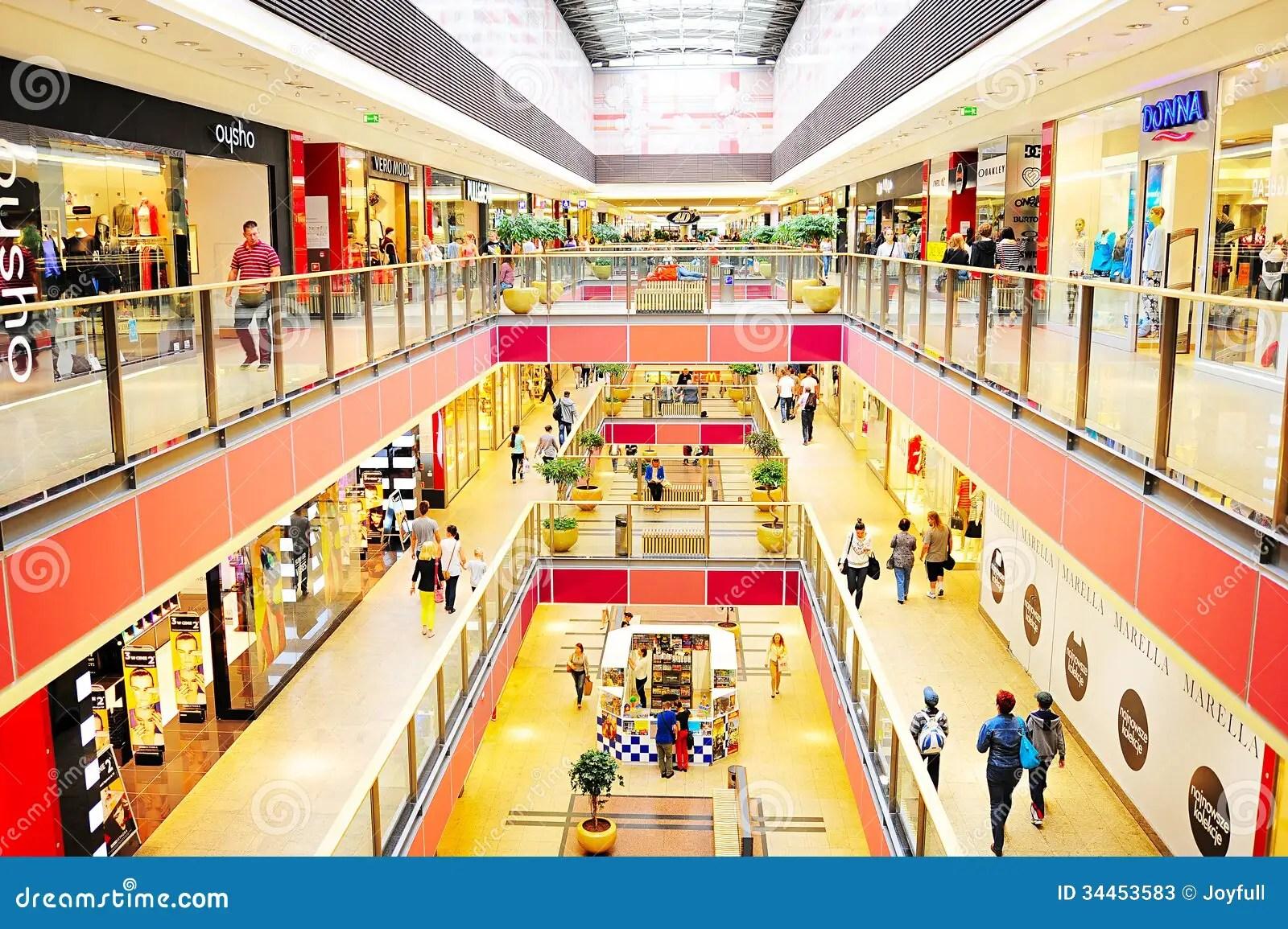 Free Retail Food Business Plans Bplans Galeria Krakowska Editorial Stock Photo Image 34453583