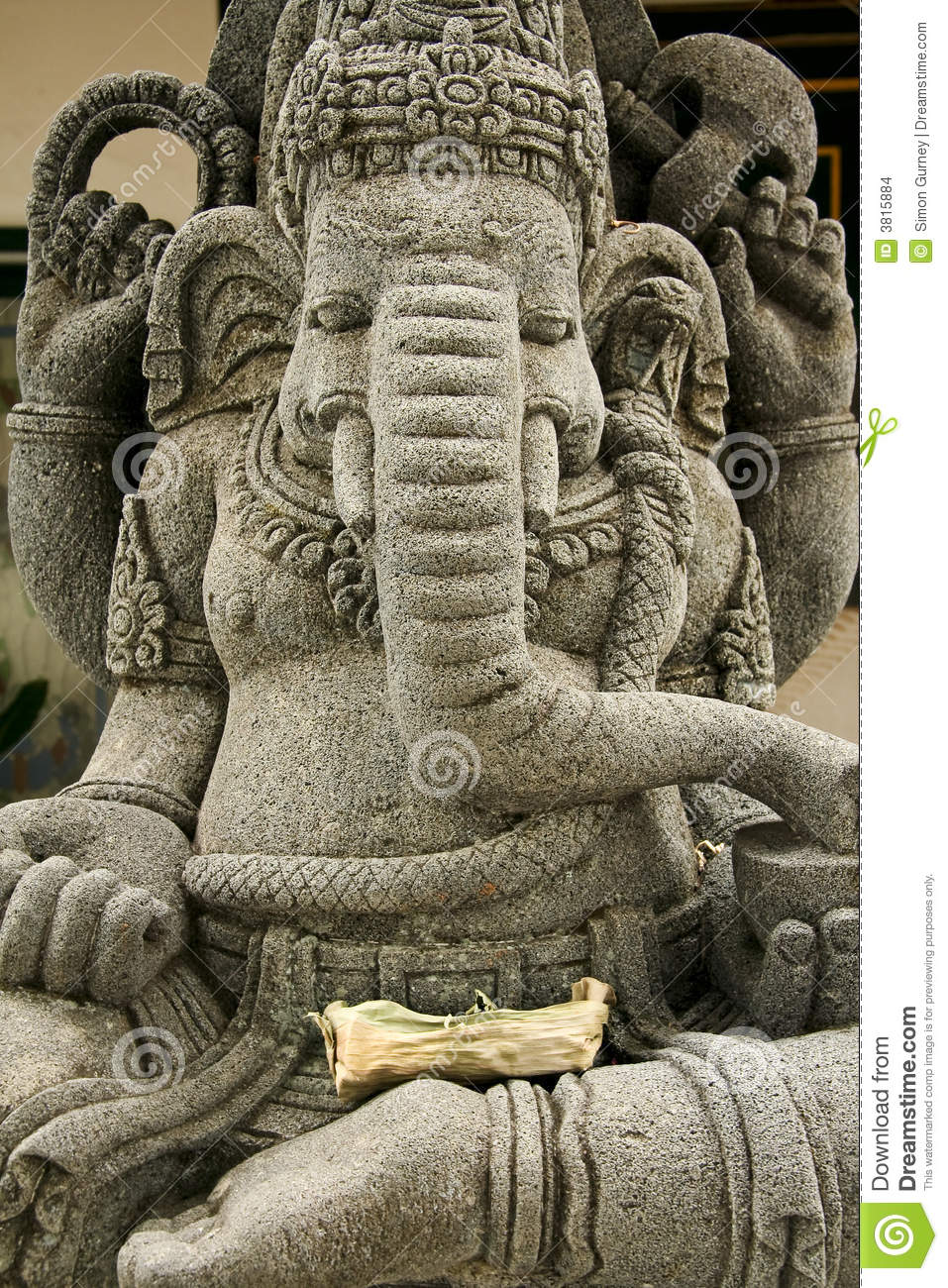3d God Wallpaper Of Hindu Gods Ganesh Elephant Headed God Statue Stock Images Image