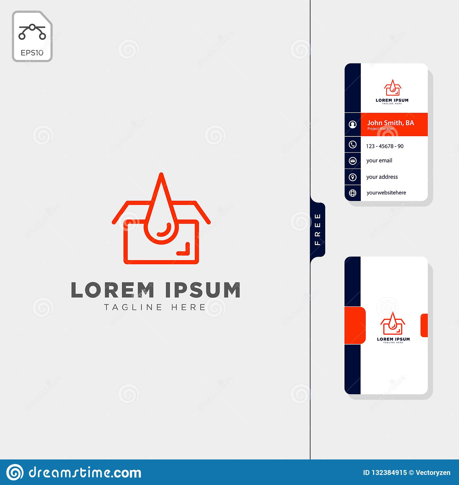 Garage Design Template Garage Oil Services Concept Logo Template Free Business Card
