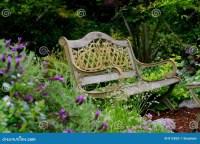 Garden Bench Royalty Free Stock Photo - Image: 812835