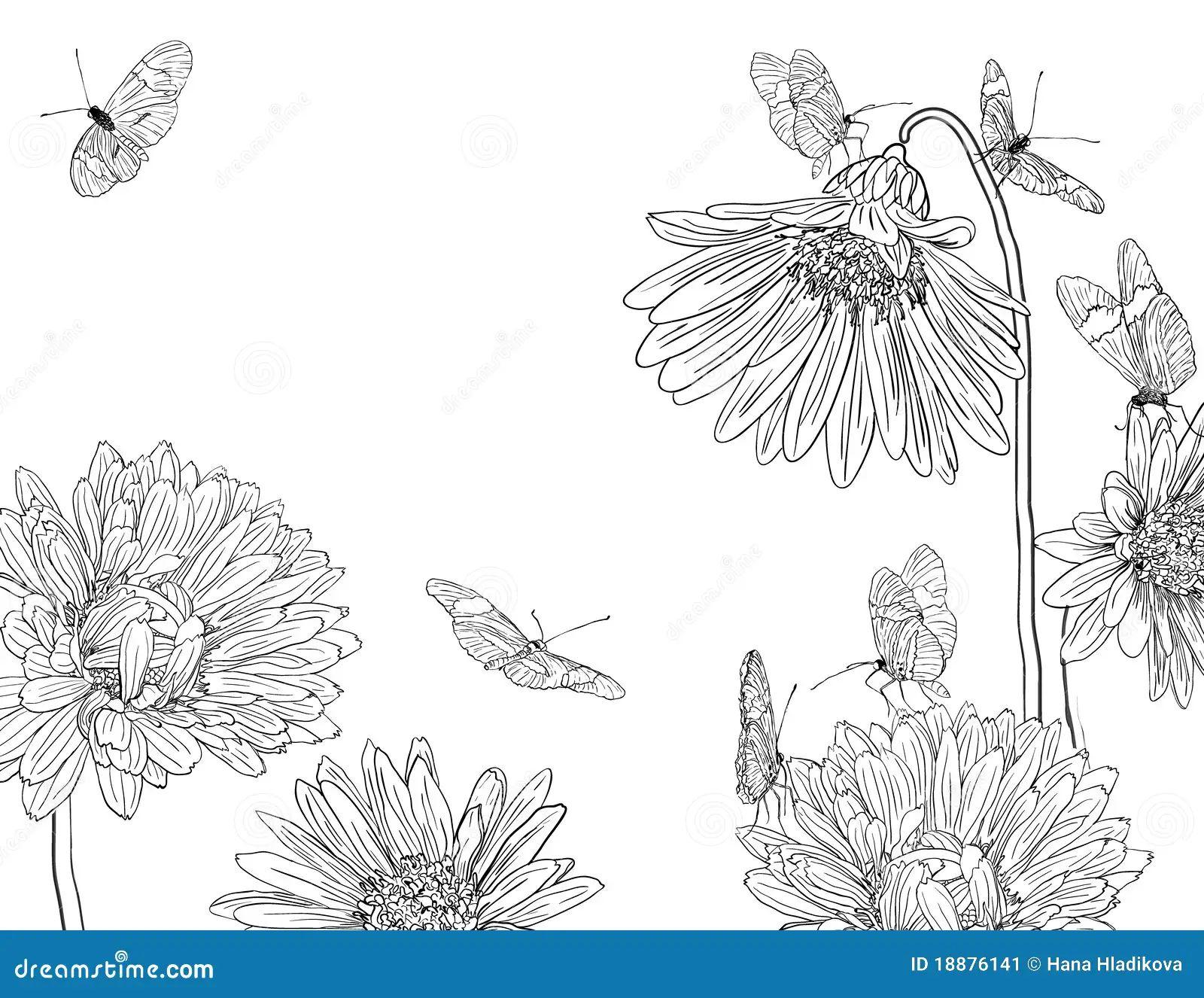 Royalty free stock photo download garden sketch