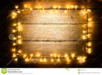 Garland Lights Wood Frame, Lighting Wooden Planks, Sign ...