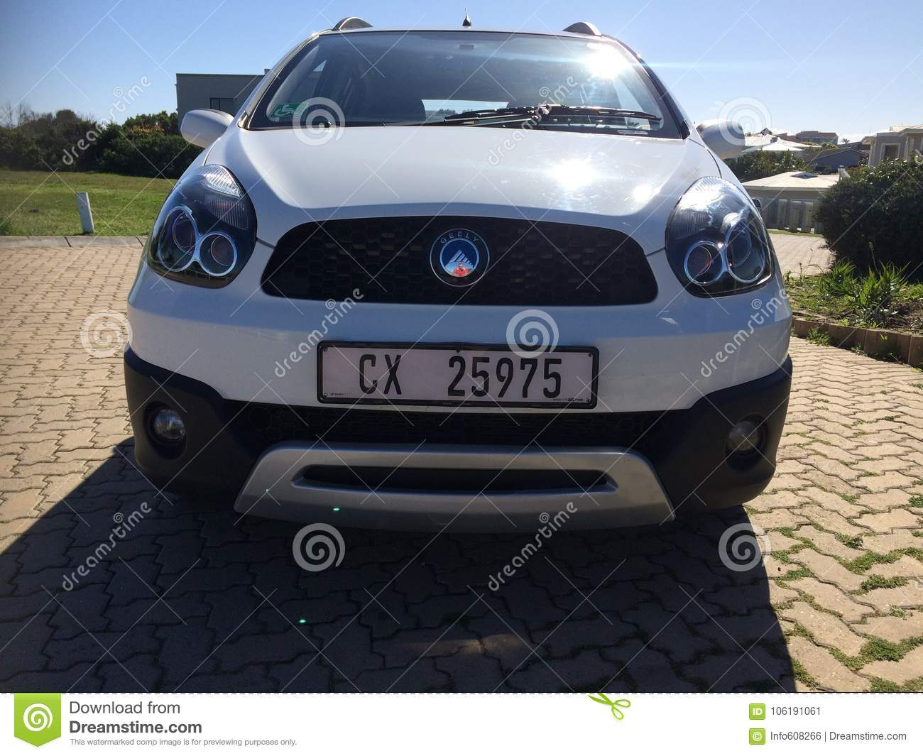 Car Manufacturers In South Africa Geely Gx2 1 5 After 3 Years Editorial Photo Image Of