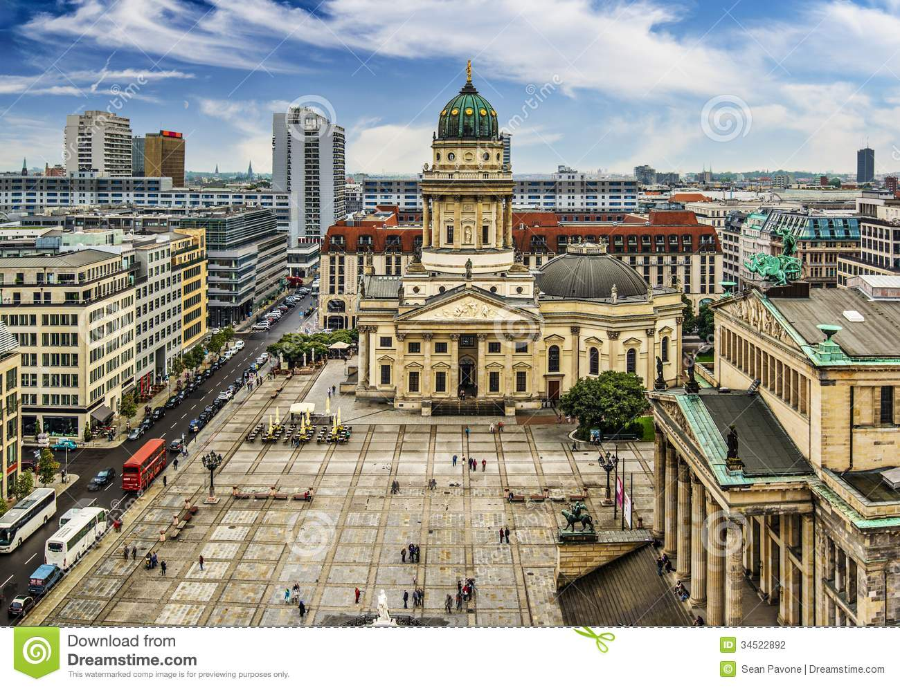 Black Friday In Germany Gendarmenmarkt Square In Berlin Stock Photo - Image: 34522892