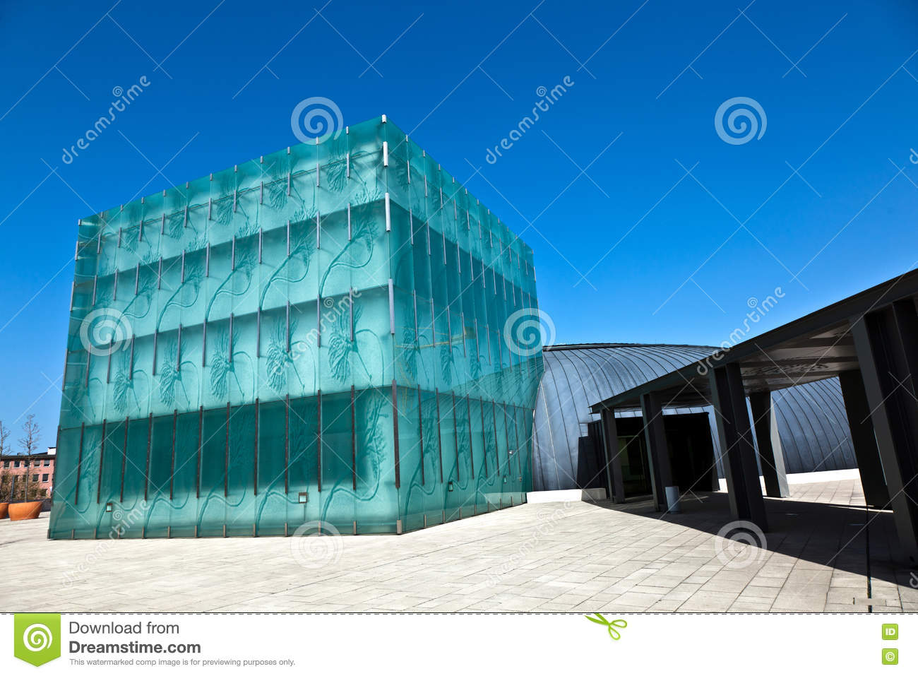 Containerdienst Wiesbaden Generic Modern Building Without People Editorial Stock Image