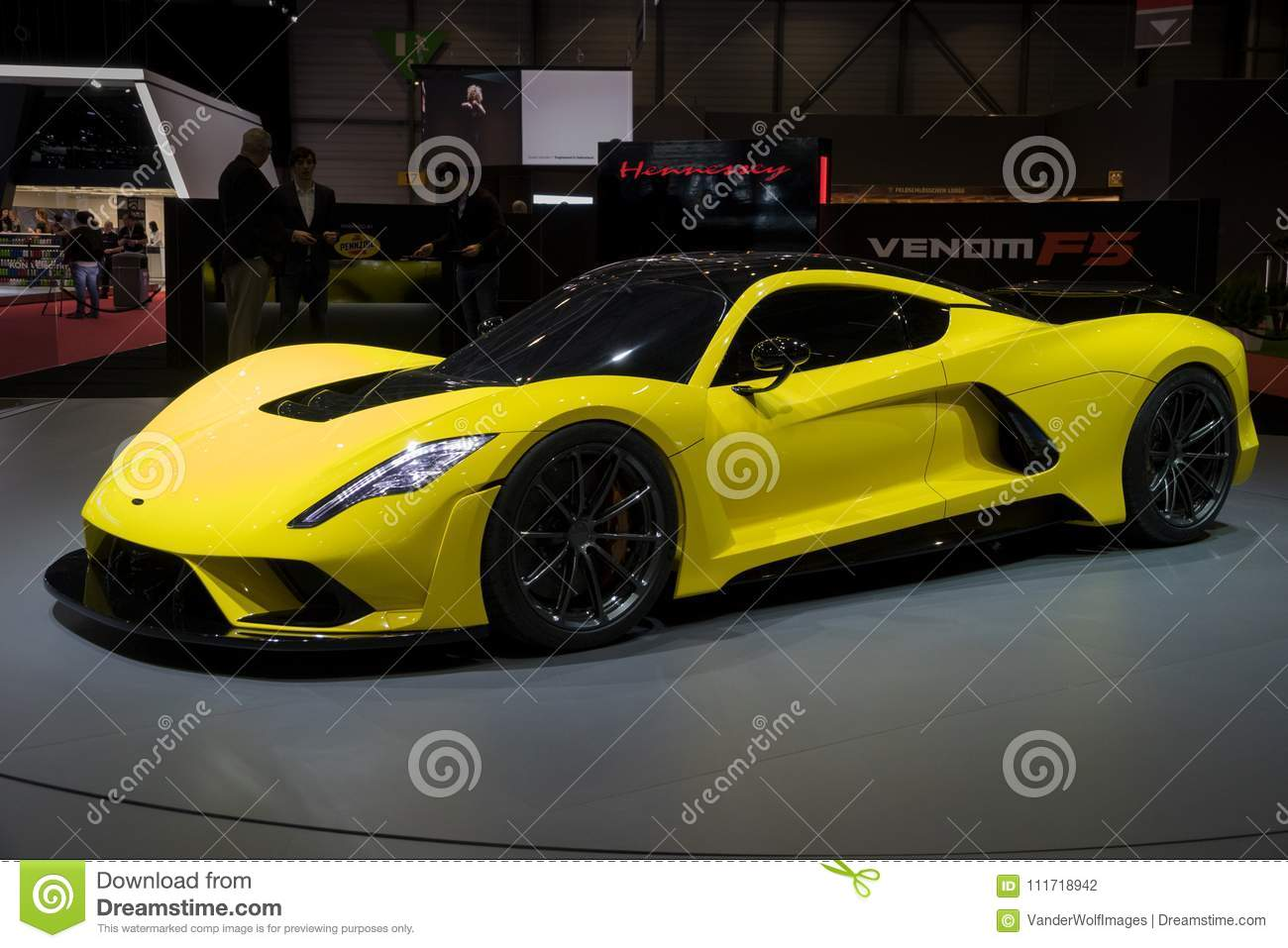 2018 Hennessey Venom F5 Hennessey Venom F5 Sports Car Editorial Photography Image Of