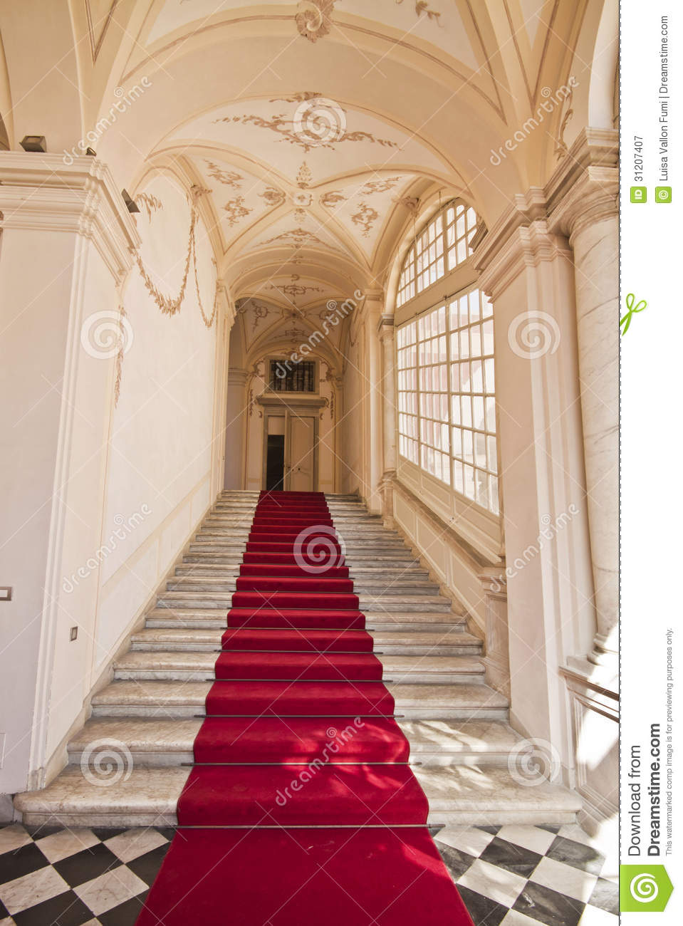 3d Wallpaper For Bedroom Uk Genoa Italy Royal Palace Entrance Hall Staircase