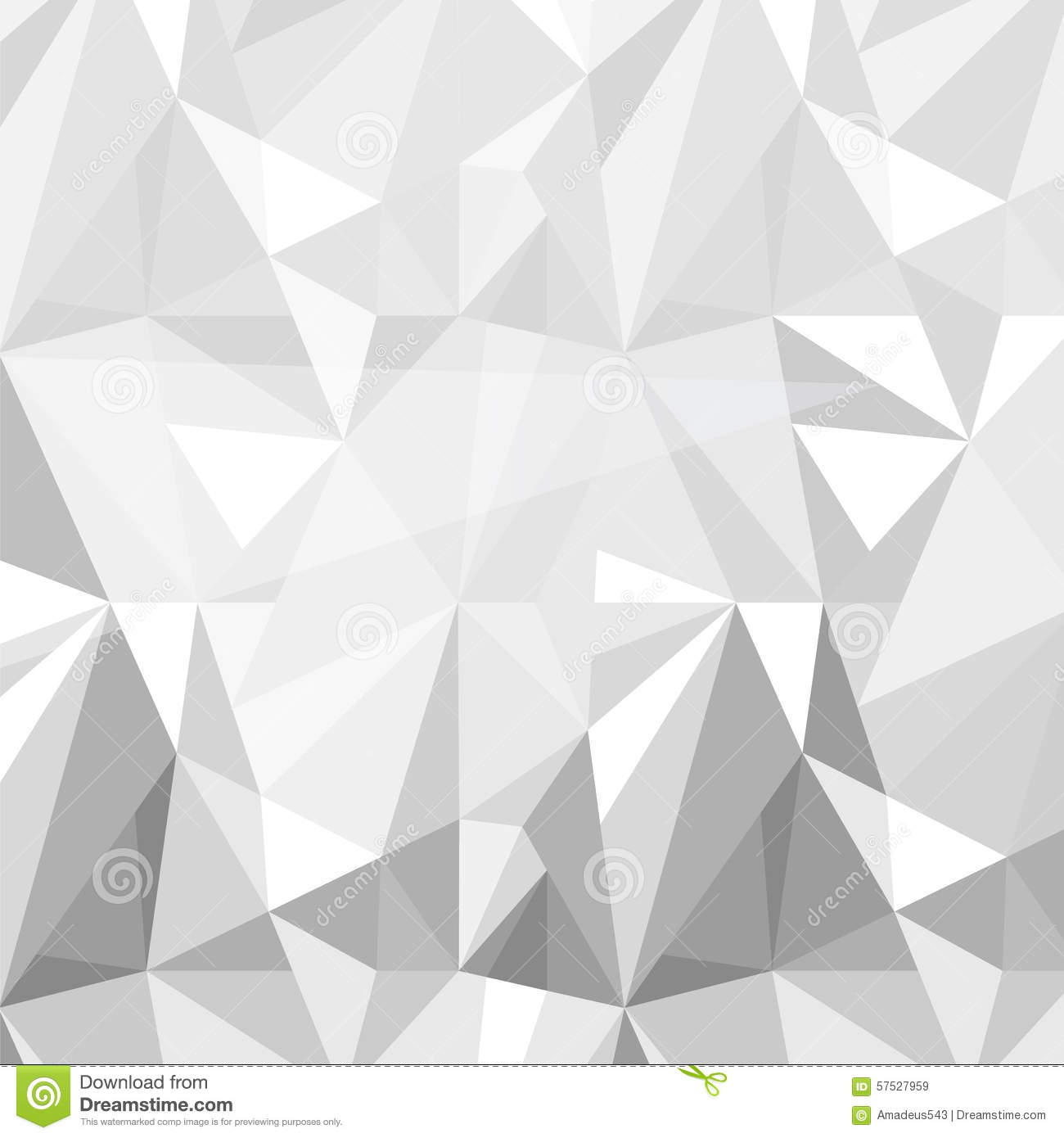 Grey And White Pattern Geometric Triangle Pattern Background Grey White Vector
