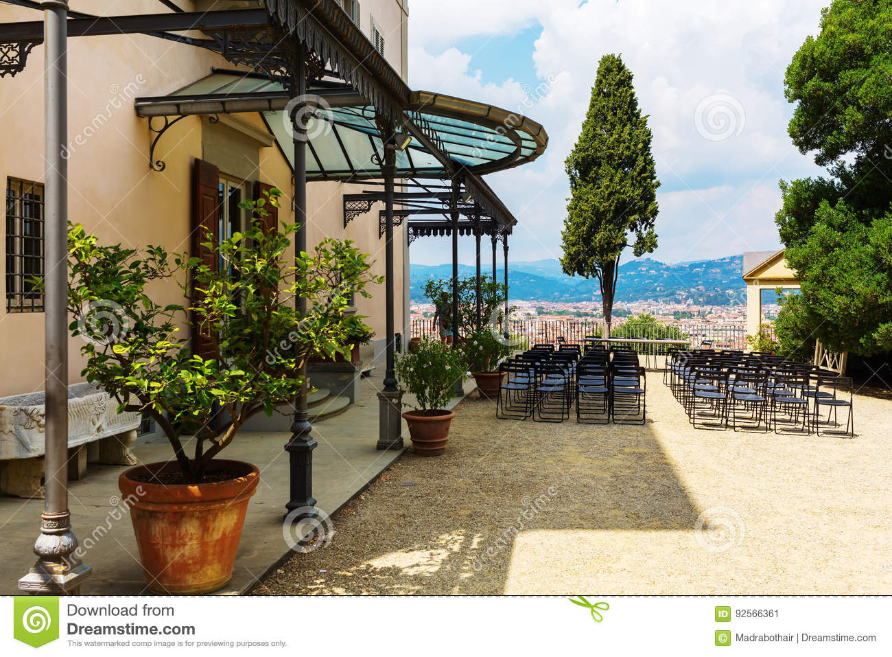 Giardino Bardini In Florence Italy Editorial Photo Image Of Garden Tree 92566361
