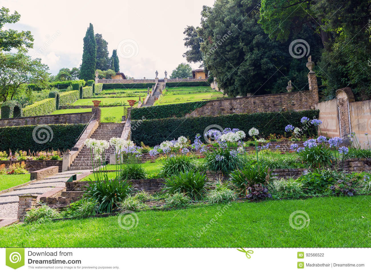 Giardino Bardini In Florence Italy Editorial Photography Image Of Landmark Park 92566522