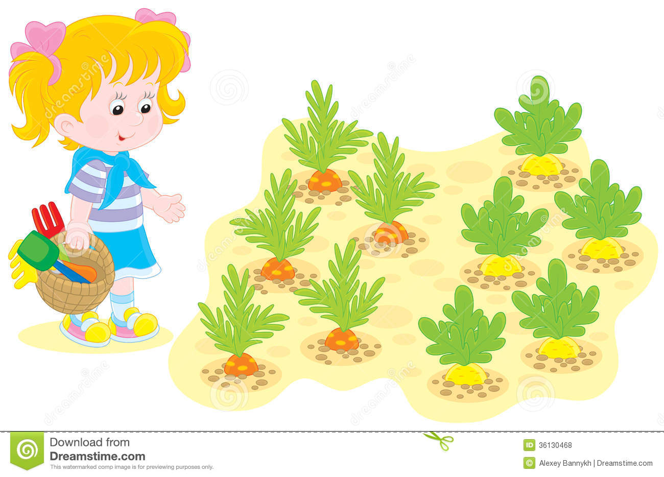 Vegetable garden kids drawing - Vegetable Garden Kids Drawing Girl In A Vegetable Garden Royalty Free Stock Photos Image 36130468 Download
