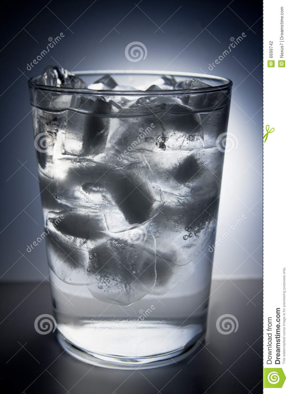 Stock Image Dreamstime Glass Full Of Ice And Water Stock Photography Image 6699742