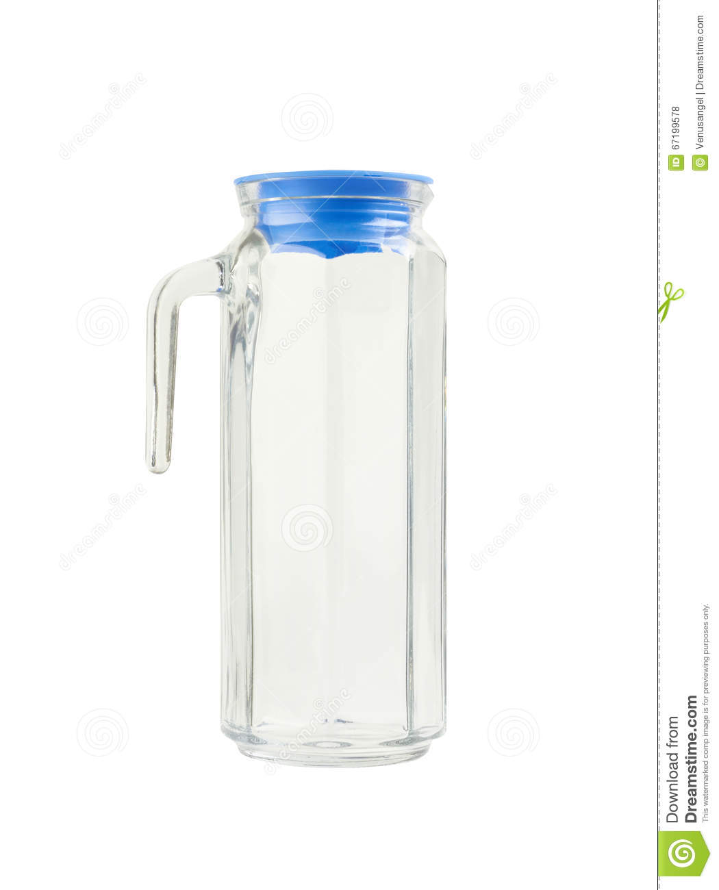 Small Glass Pitcher With Lid Glass Pitcher With Lid Stock Photo Image 67199578