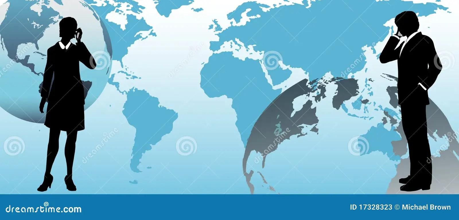 3d Virus Wallpaper Global Business People Communicate Across World Stock