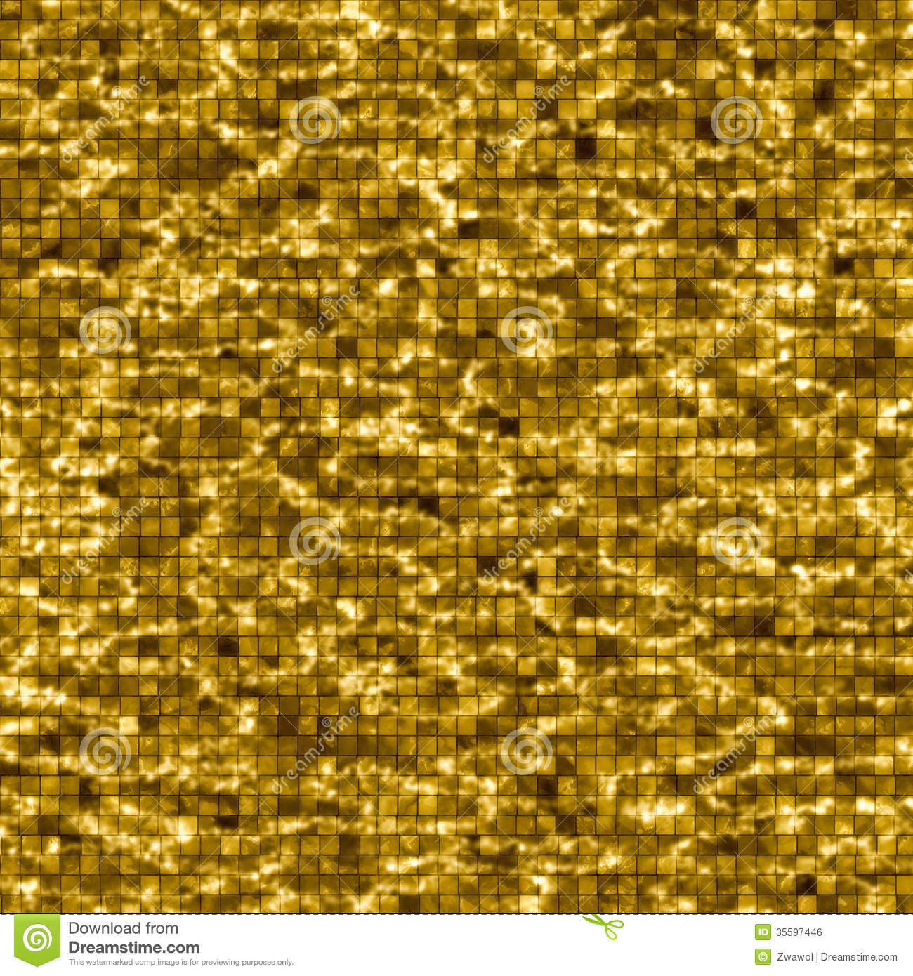 3d Water Drop Wallpaper Gold Pool Water Background Royalty Free Stock Image