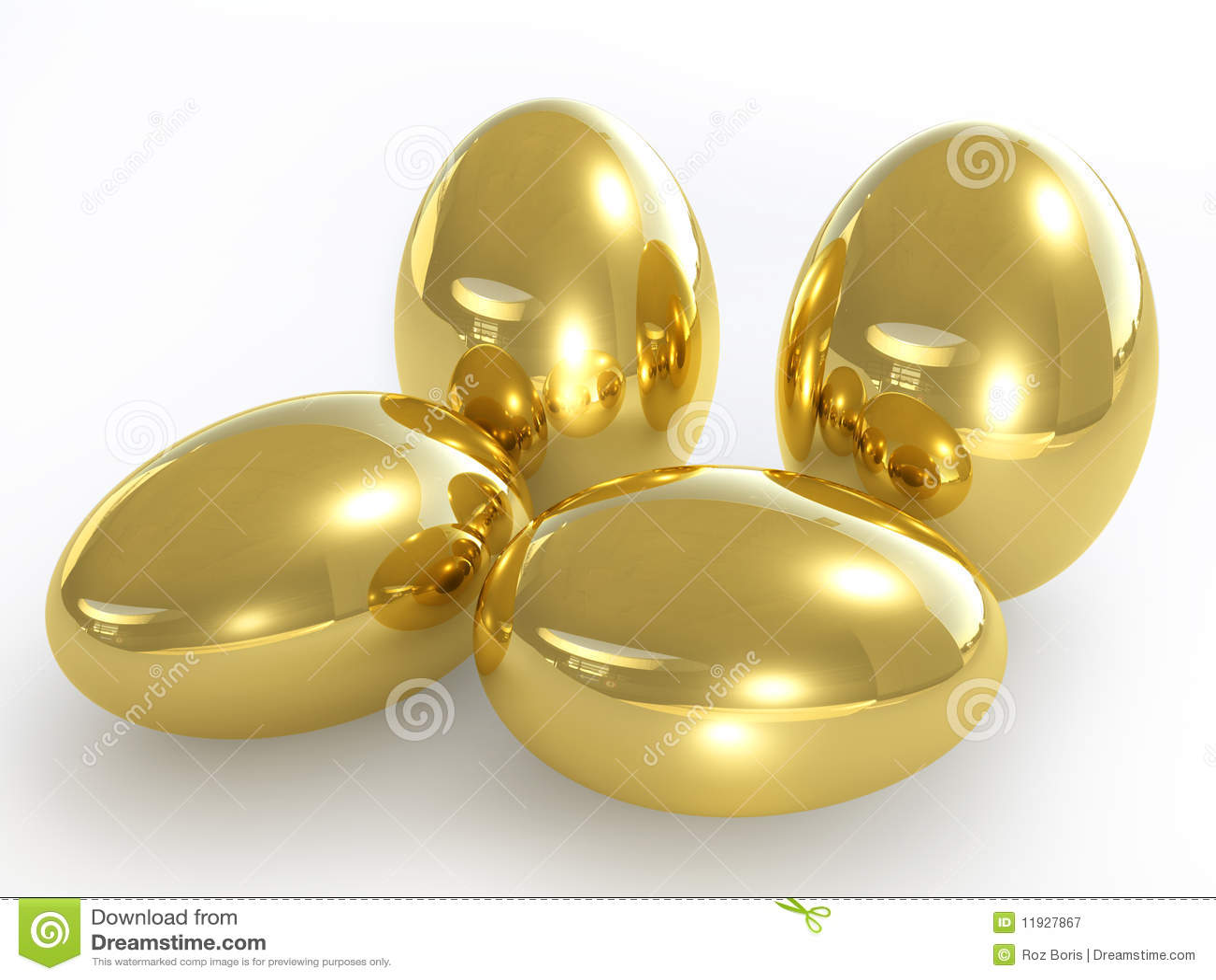 3d Colour Wallpaper Free Download Golden Eggs Stock Illustration Image Of Present Golden