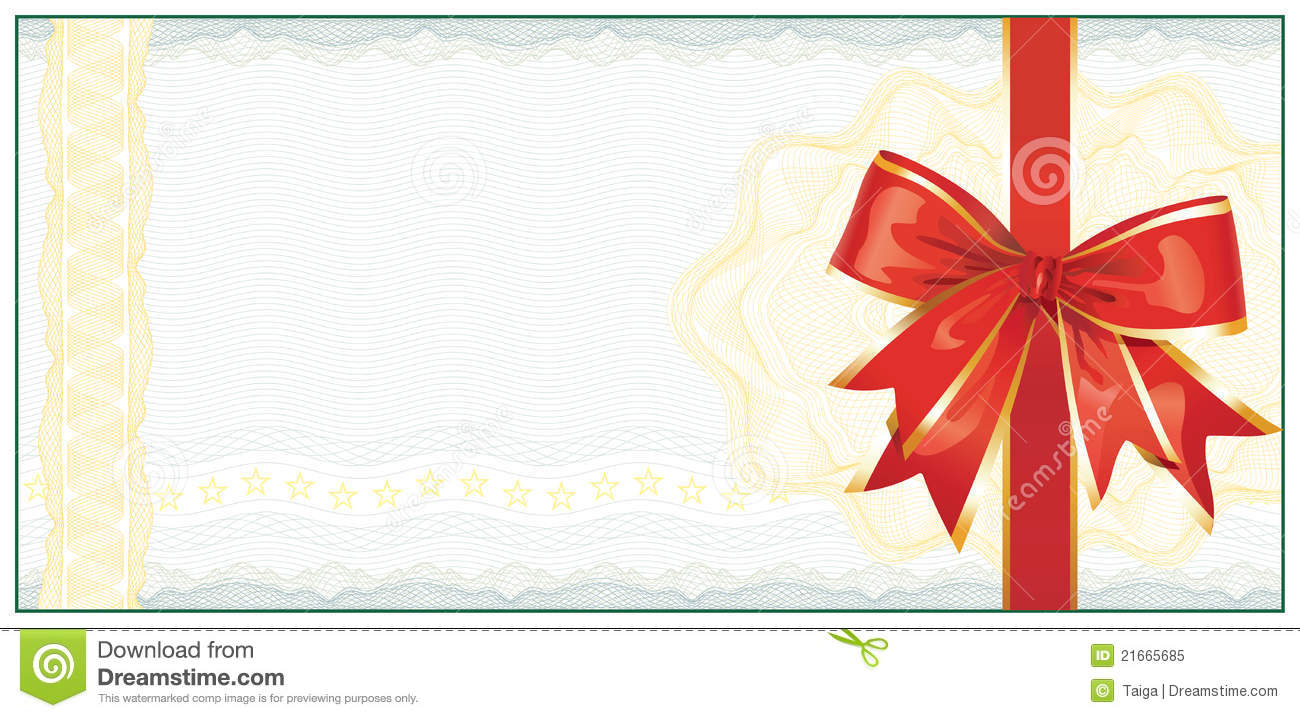 Gift Certificate Template Holiday – Download Free Gift Certificate Template