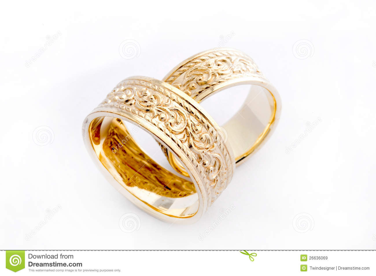 royalty free stock images golden wedding rings image gold wedding rings Golden Wedding Rings