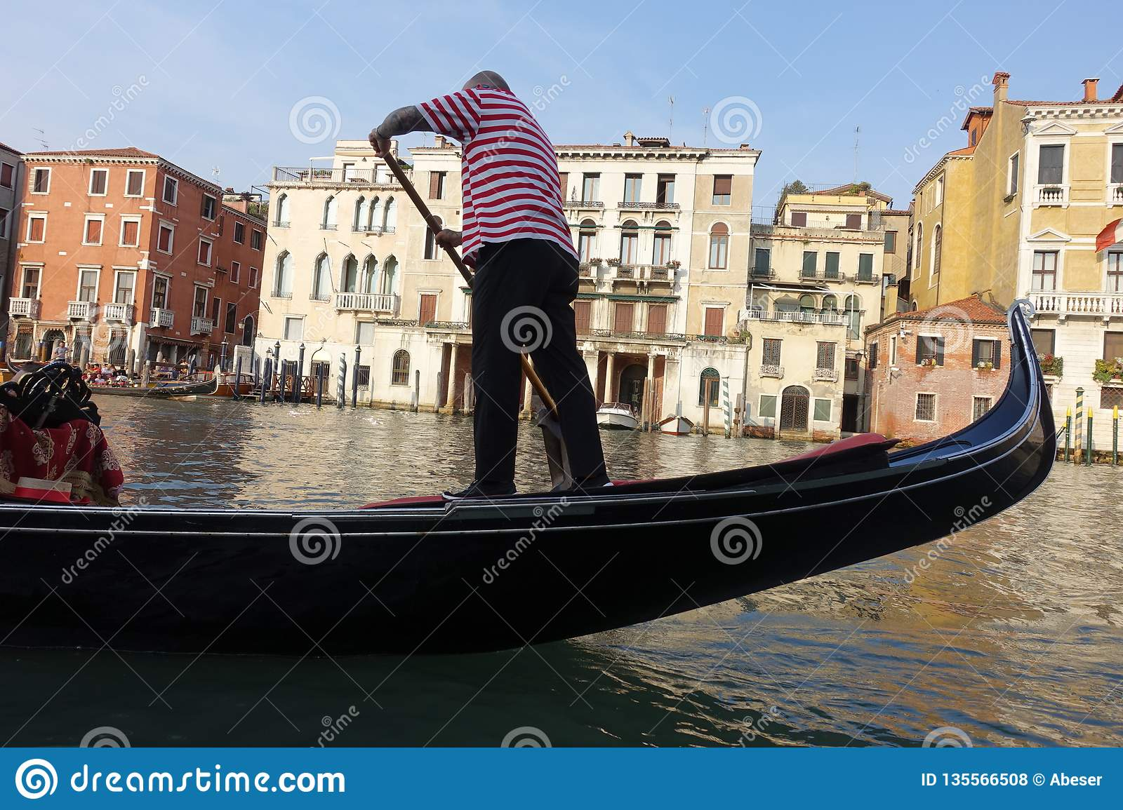 Venice Venedig Gondolas In Venice Italy Editorial Stock Photo Image Of Days