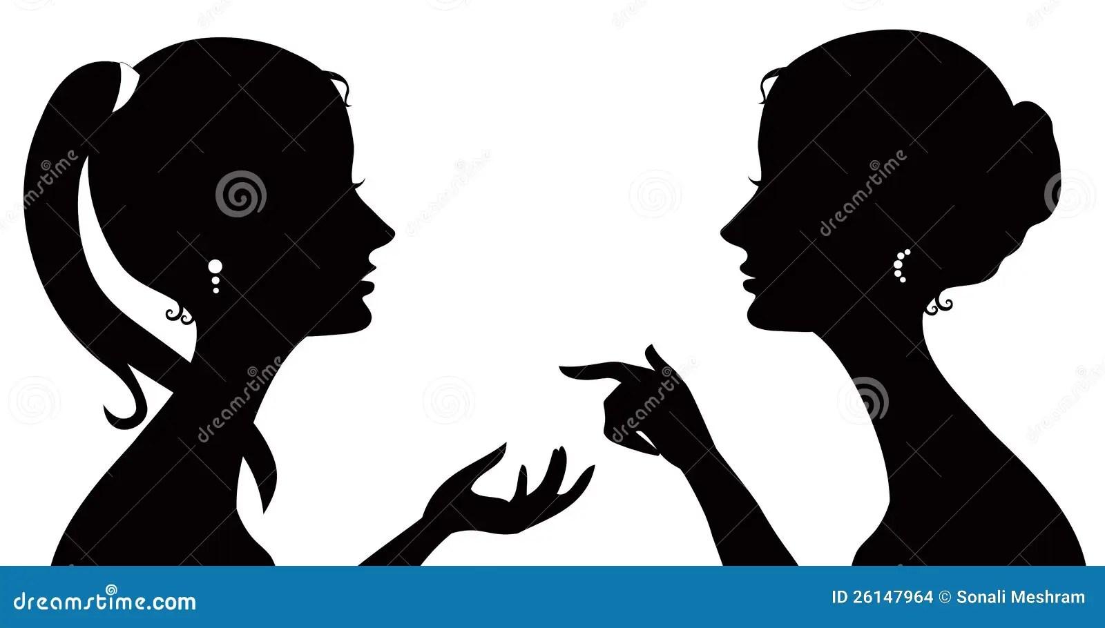 Gossip Girl Cartoon Wallpaper Gossip Silhouette Stock Vector Image Of Artistic