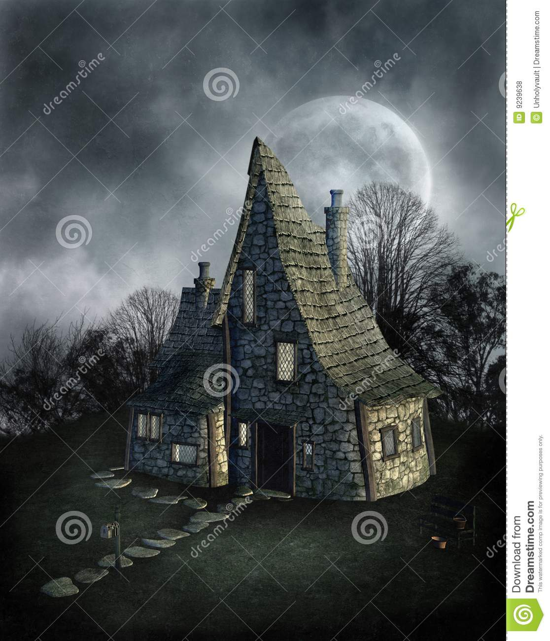 Black And White Gothic Wallpaper Gothic Scenery 69 Royalty Free Stock Photos Image 9239638