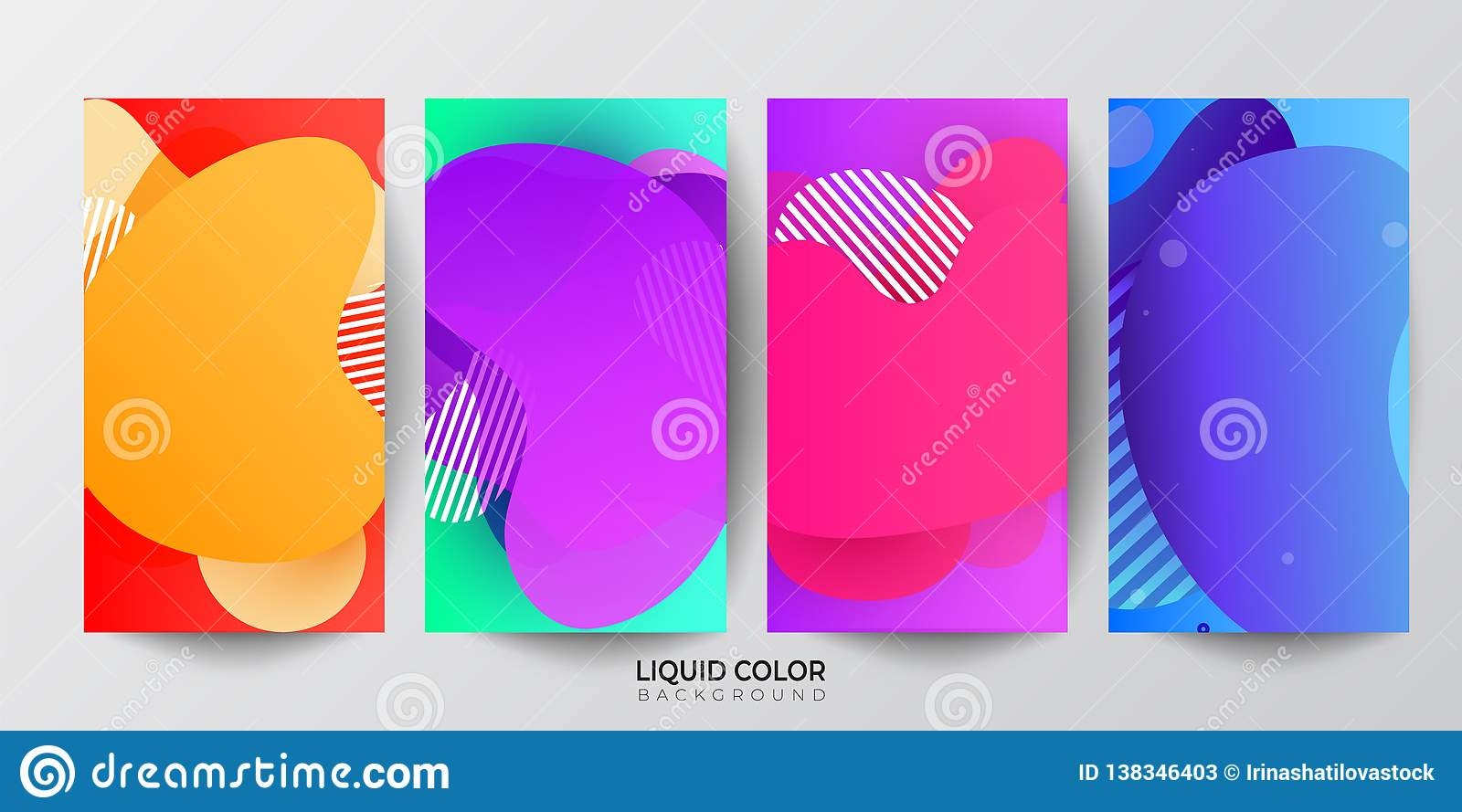 Möbel Modern Design Modern Screen Color Gradients Vector Design For Mobile App Stock
