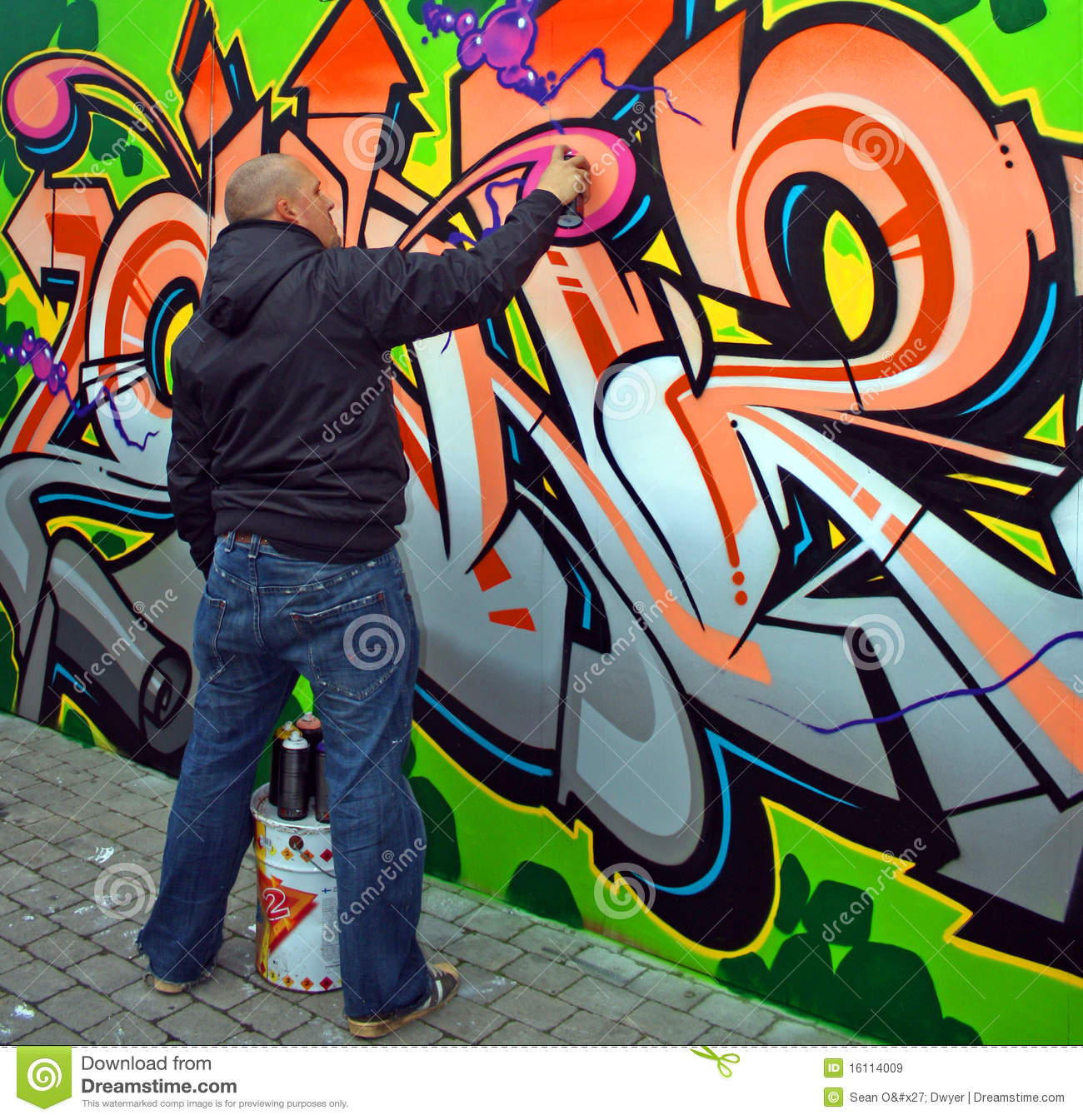 Art Bild Graffiti Artist Editorial Stock Image Image Of Artist 16114009