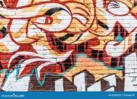 Graffiti Wall Stock Photo - Image: 52360725