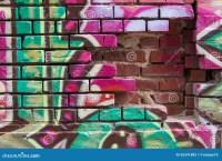Graffiti Wall Stock Photo - Image: 55341882