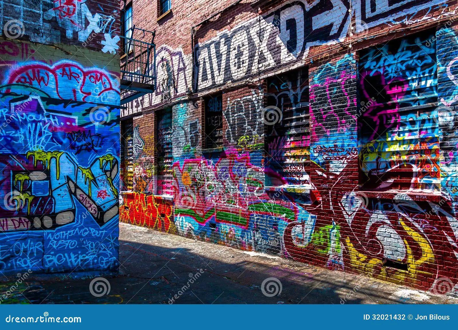 Alley baltimore graffiti walls