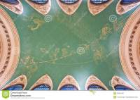 Grand Central ceiling stock image. Image of york, america ...