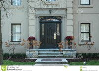 Grand Home Entrance Royalty Free Stock Photography - Image ...