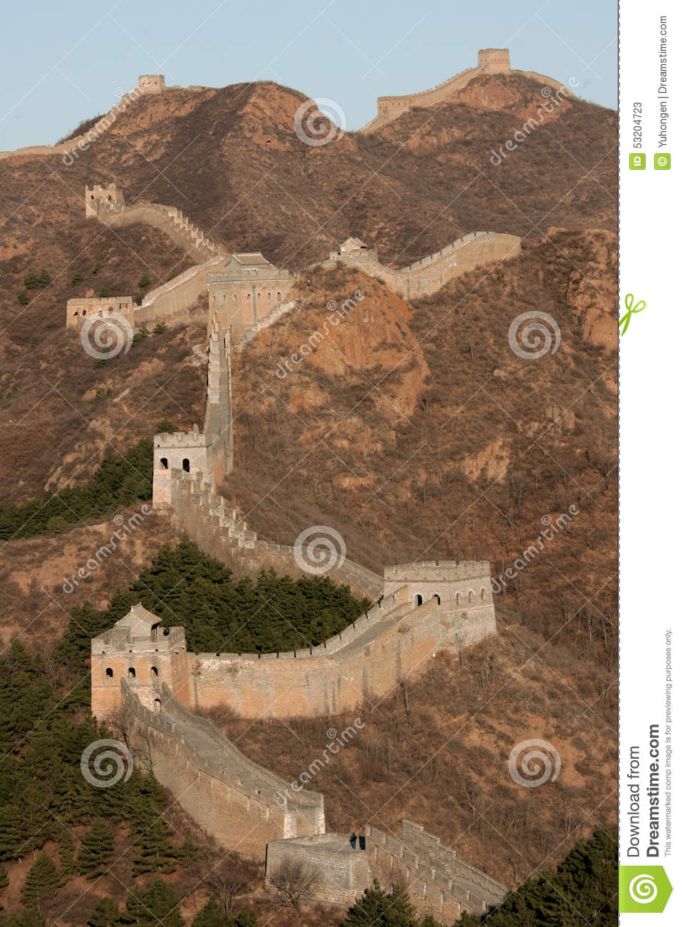 Chinese Geography Great Wall Of China Editorial Stock Photo Image Of Geography