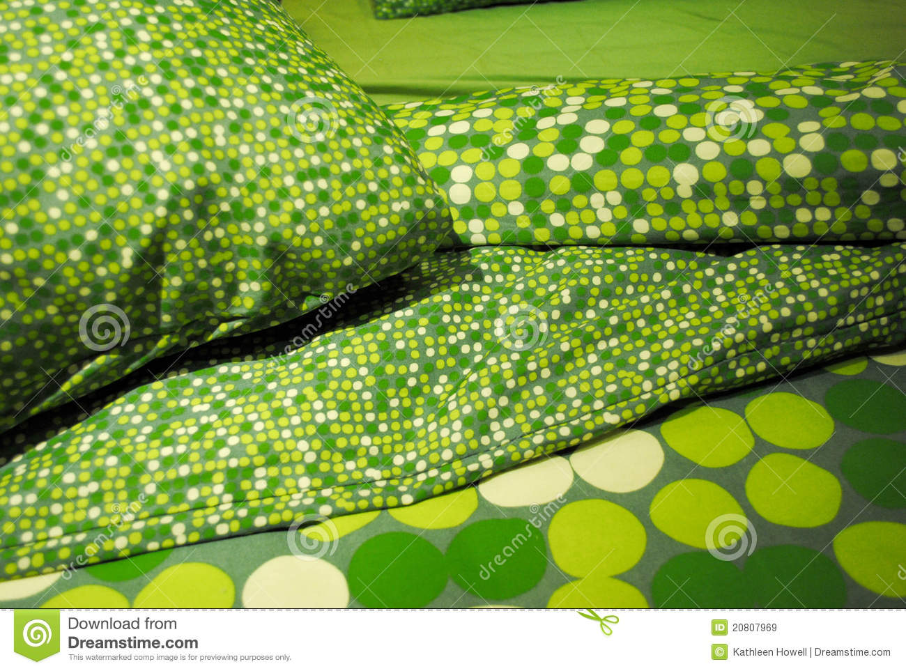 Bettwaesche Clipart Green Bedding Royalty Free Stock Images Image 20807969
