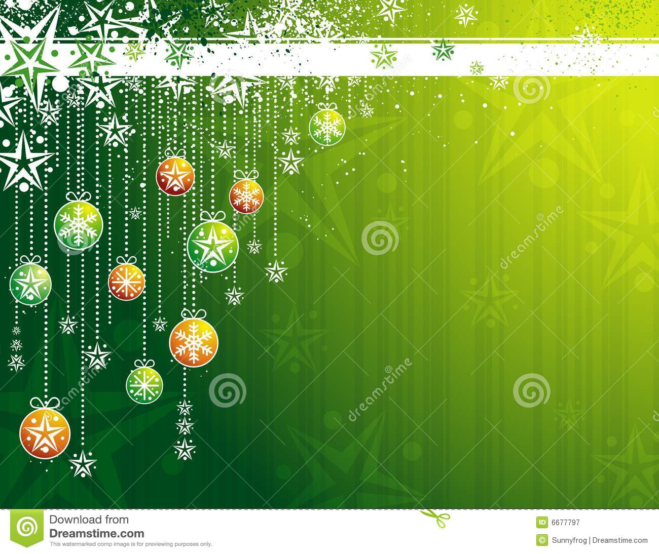 Black And Silver Floral Wallpaper Green Christmas Card Vector Stock Vector Image 6677797