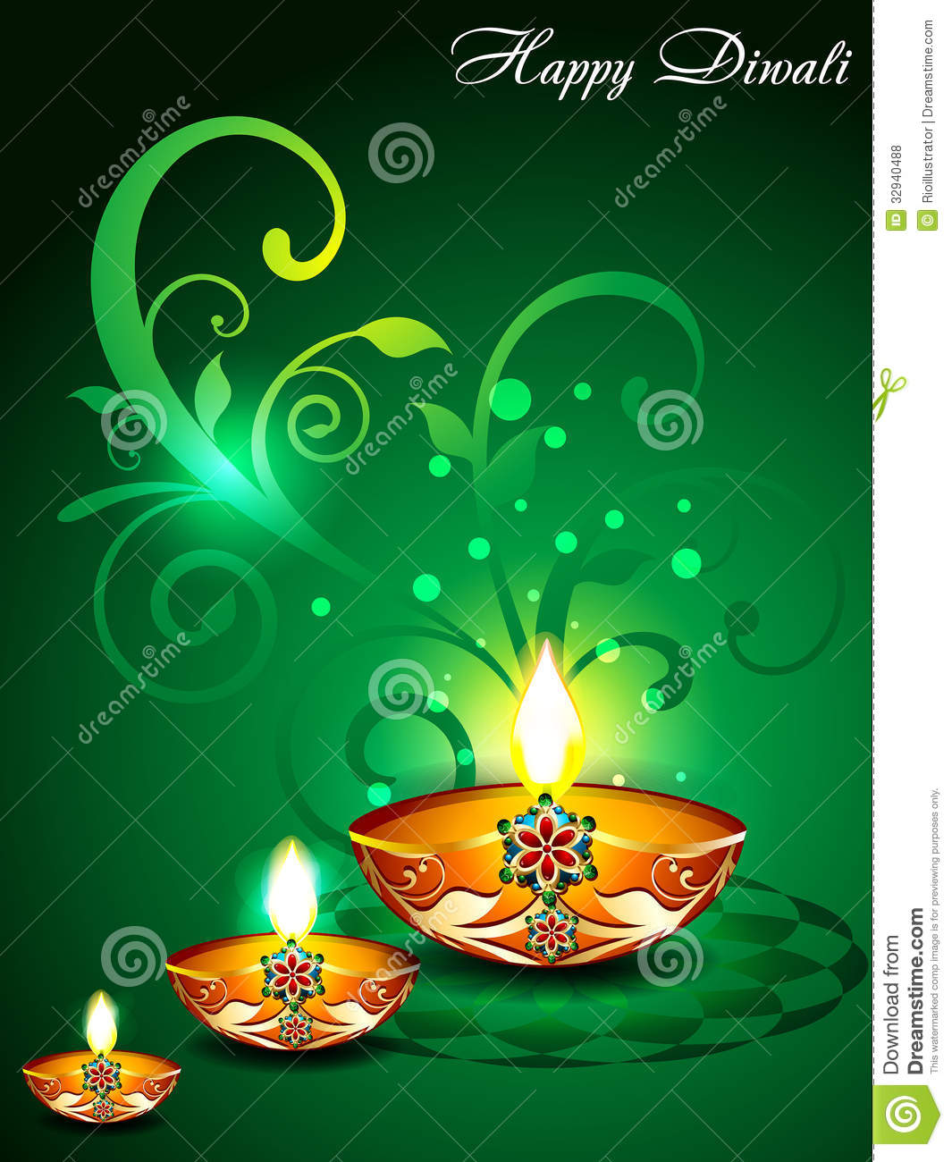Hd Wallpaper Diwali Light Green Diwali Background With Floral Royalty Free Stock