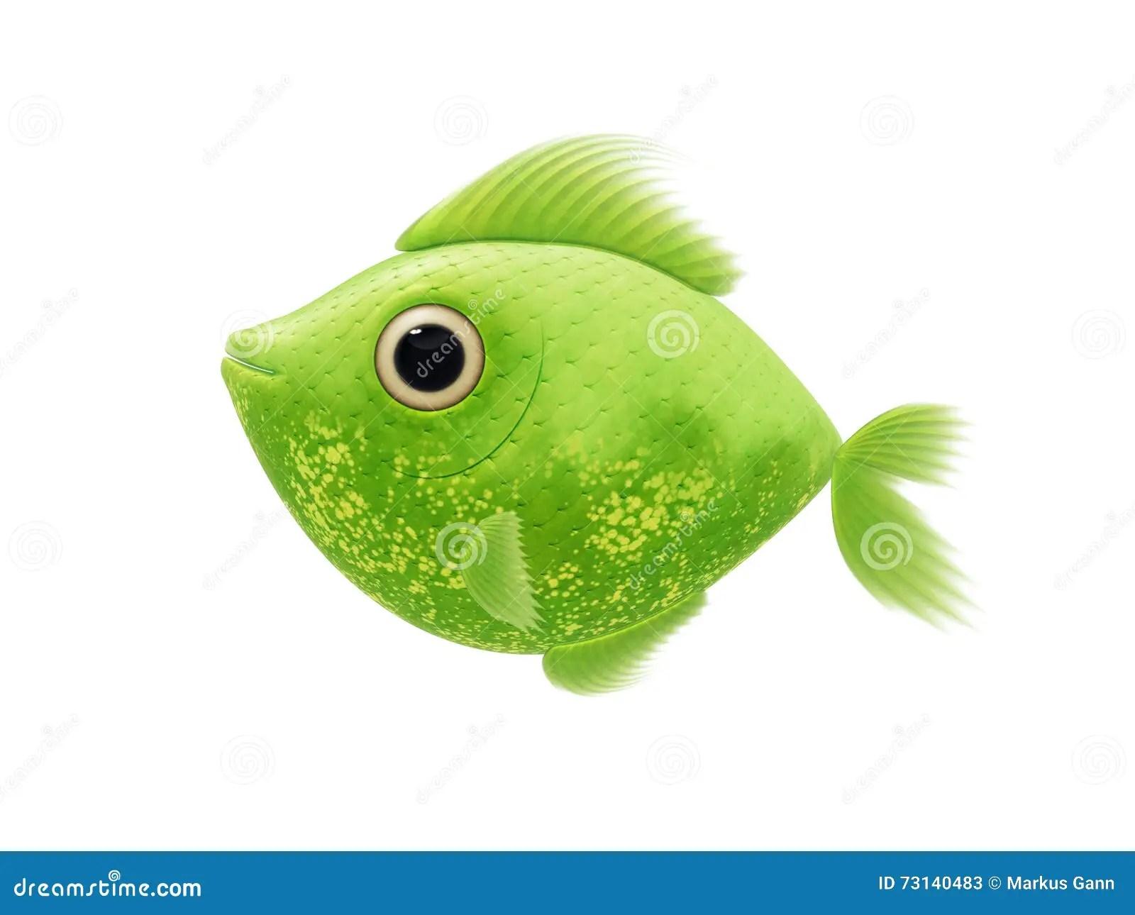 Green Animal Print Wallpaper Green Fish Stock Illustration Illustration Of Fishing