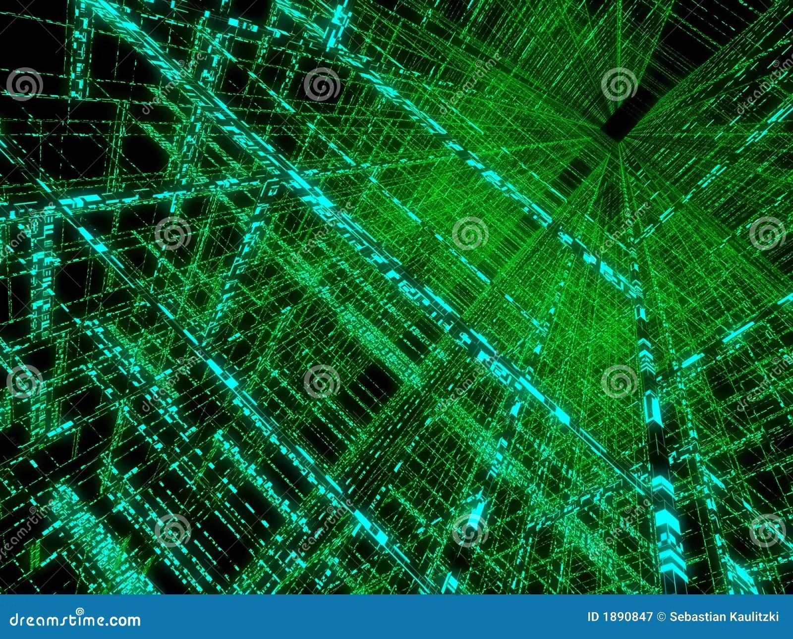 3d Wallpaper Hd Universe Green Matrix Royalty Free Stock Photography Image 1890847