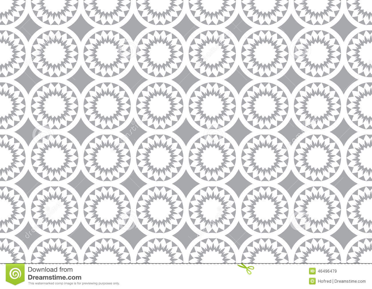 Grey And White Pattern Grey Circle Kaleidoscope Pattern Background For Wallpaper