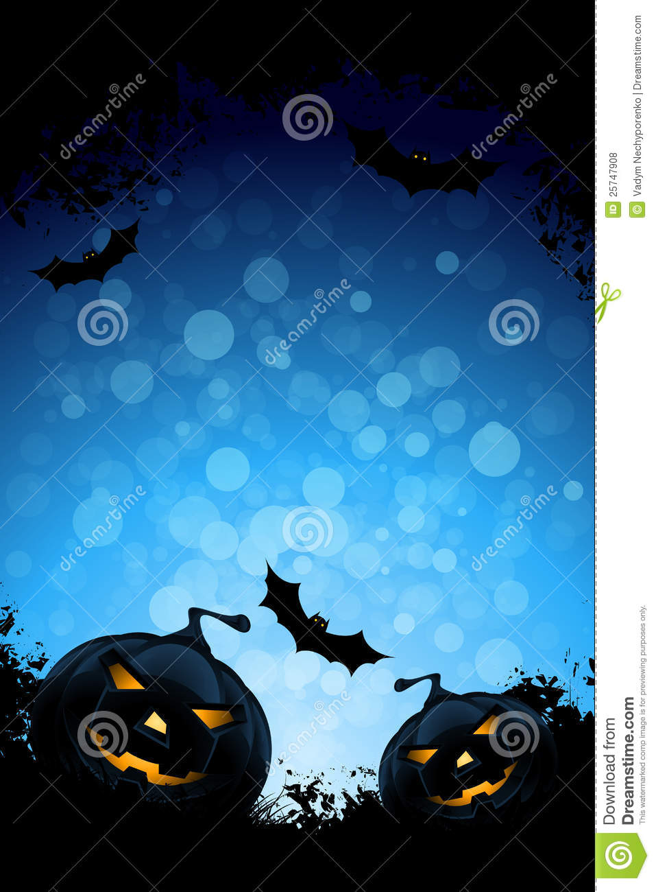 Grunge Background For Halloween Party Royalty Free Stock