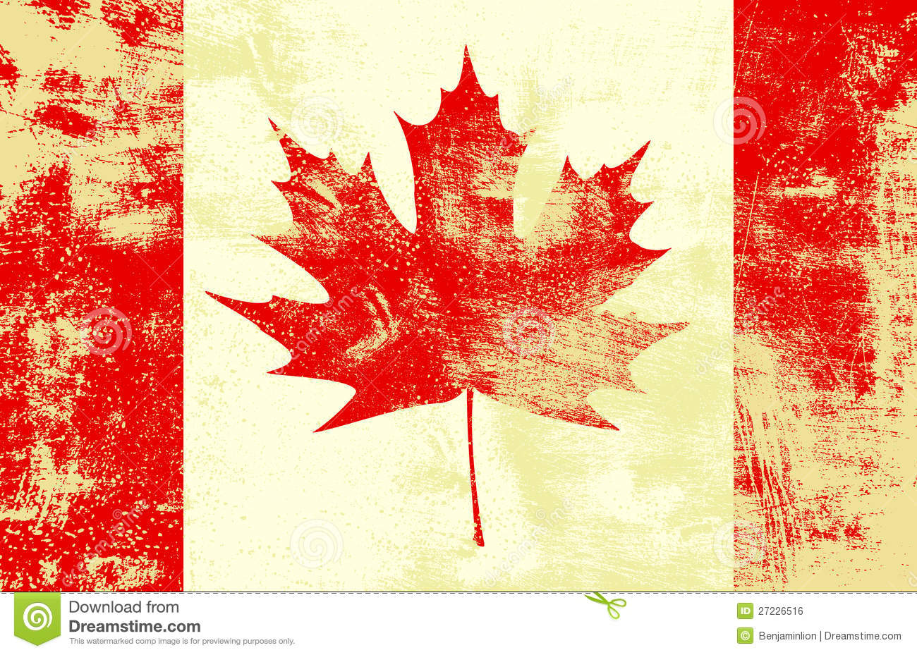 Fall Wallpaper Border Grunge Canadian Flag Stock Vector Image Of Canada