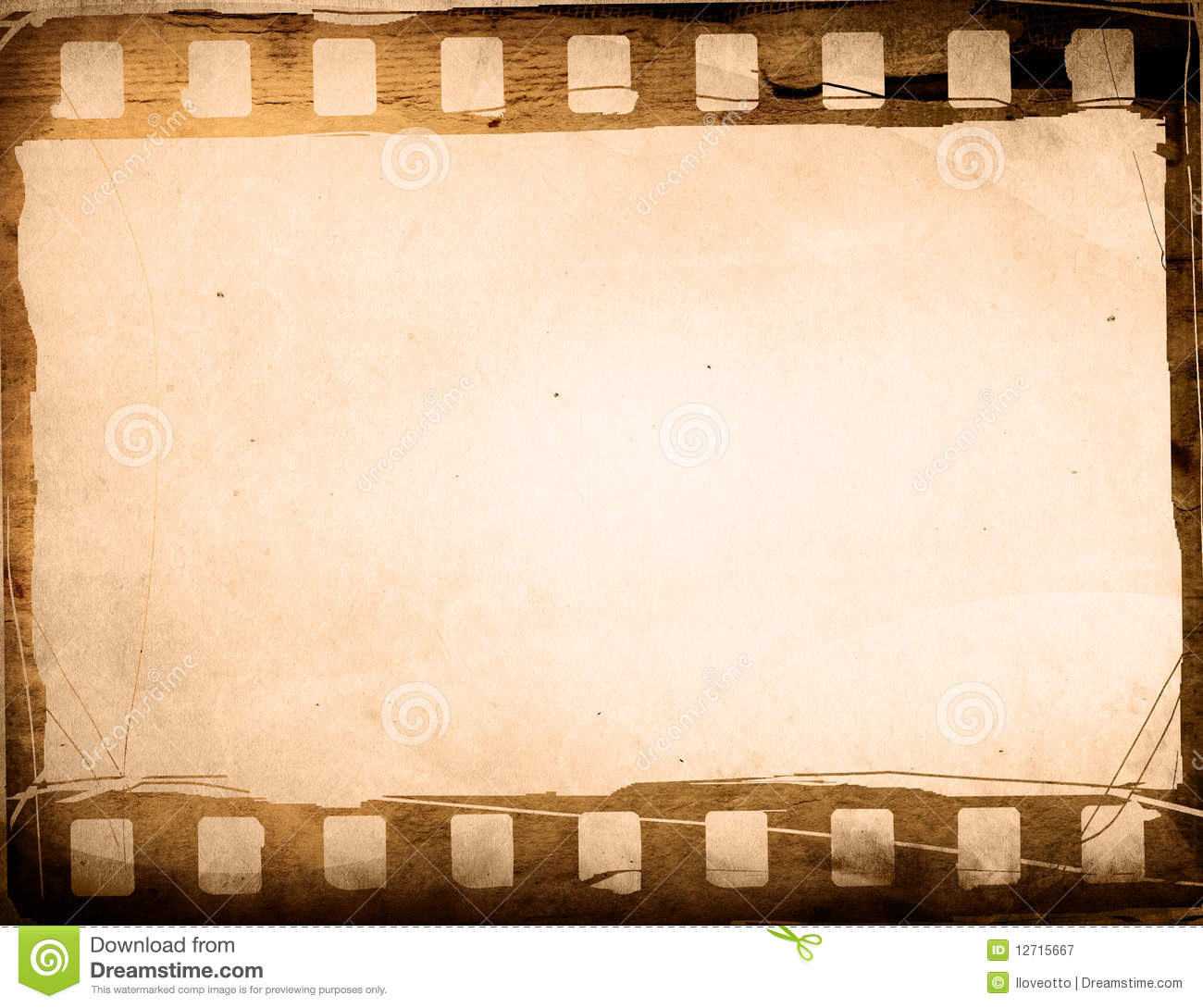 Filmstreifen Bilderrahmen Grunge Film Frame Effect Royalty Free Stock Photography