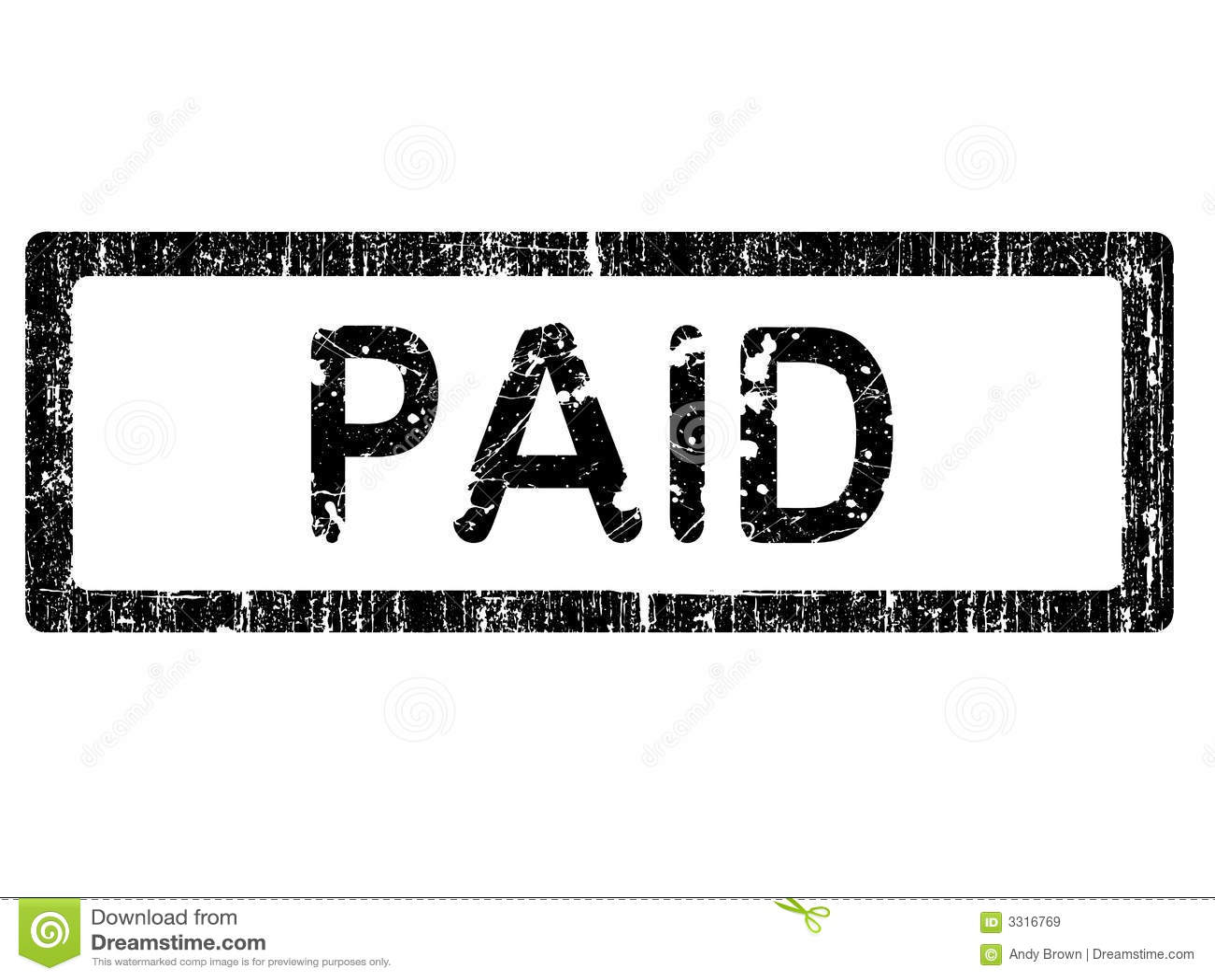 Pdf Paid Stamp