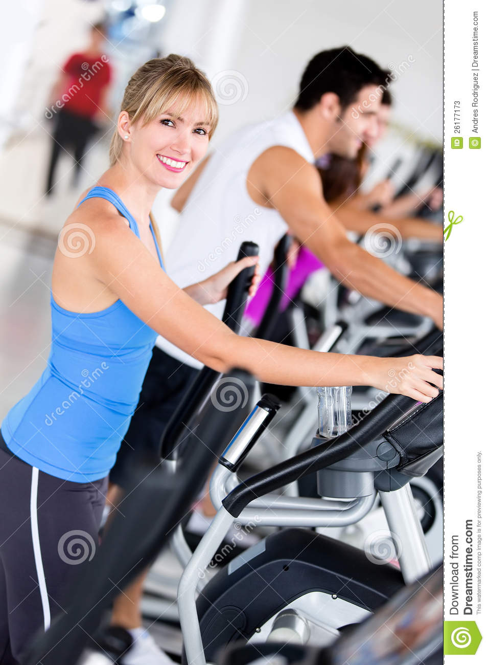 Running Jogging Music Download Gym People Exercising Stock Image Image Of Sportive