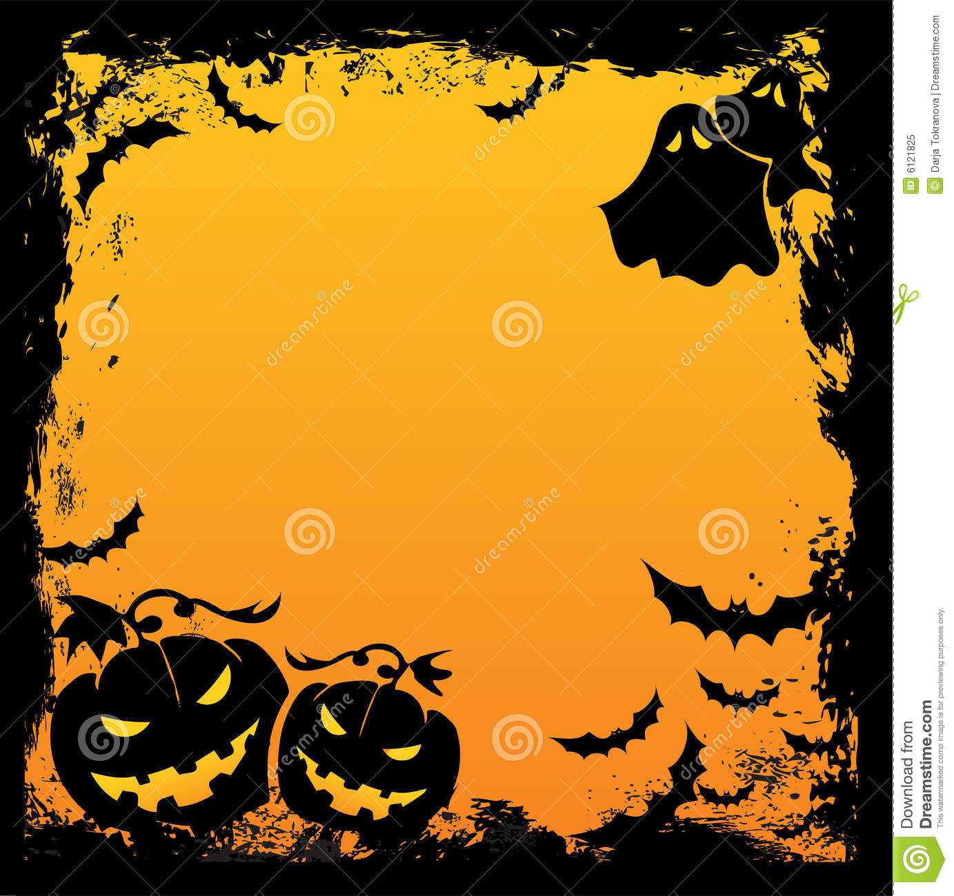 Spooky Fall Wallpaper Halloween Background Royalty Free Stock Photo Image 6121825