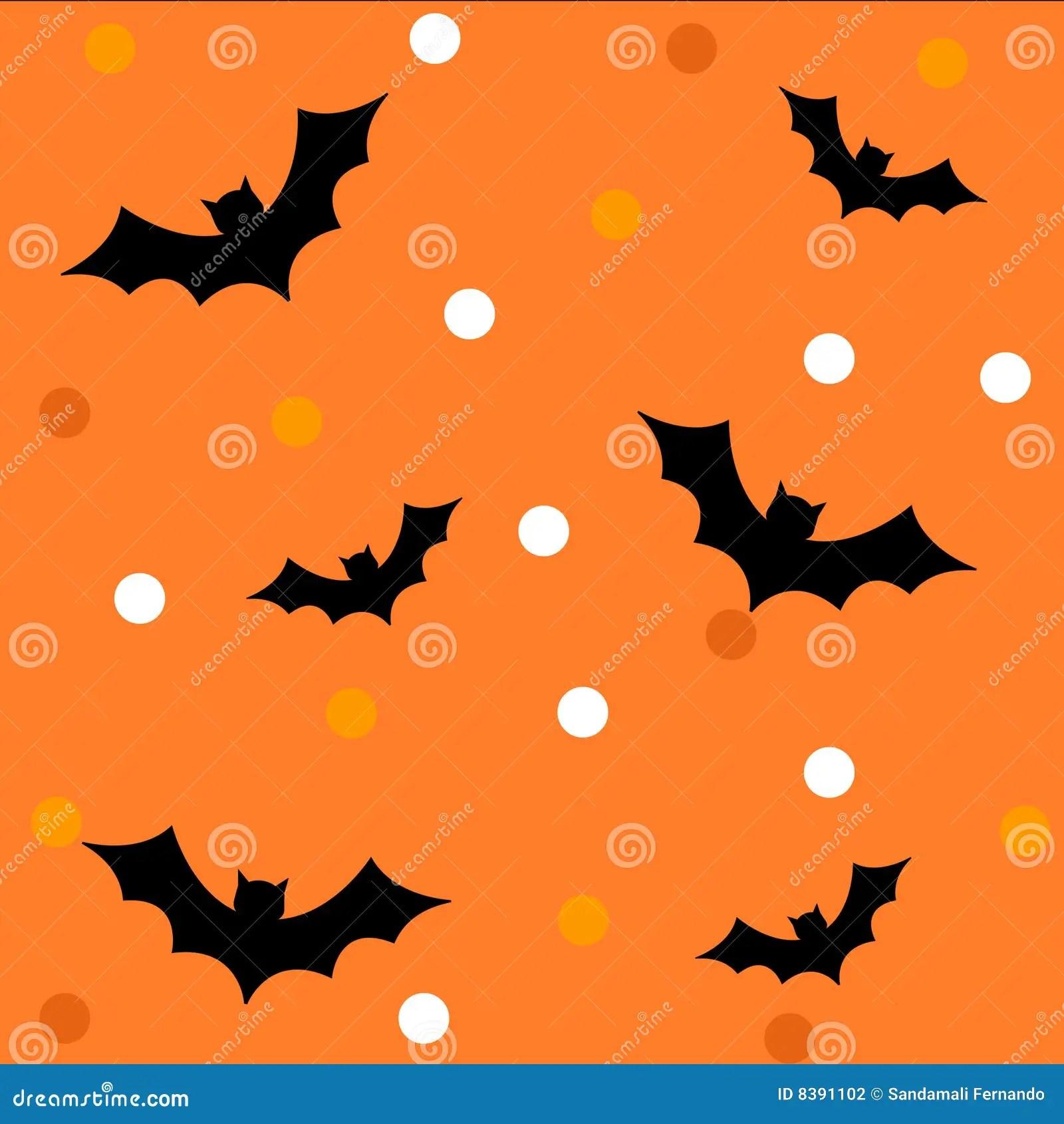 Cute Pumpkin Wallpaper Halloween Pattern Background Stock Photography Image
