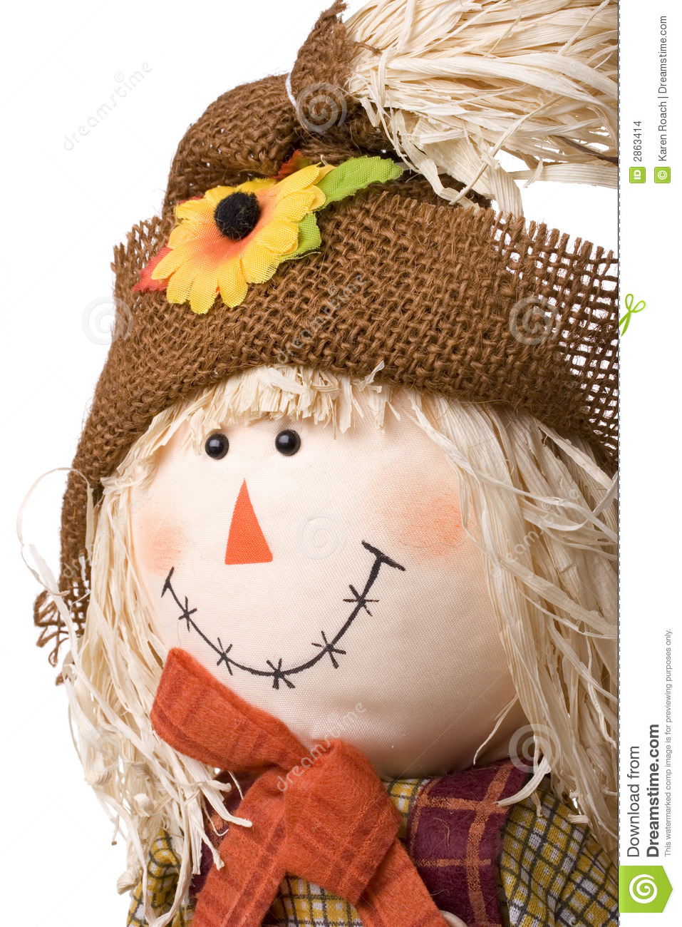 Happy Fall Wallpapers Halloween Scarecrow Stock Images Image 2863414